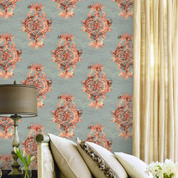 YG3210 high quality 1.06m classic deep embossed wallpaper