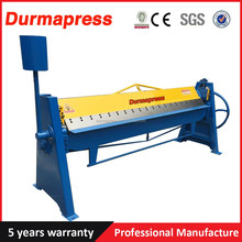 WS-1.5X2000 Up and down movements adjusted 2m Manual steel plate folding machine