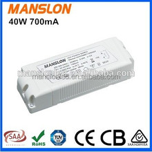 high pfc 40w led panel light led driver constant voltage triac dimmable led driver
