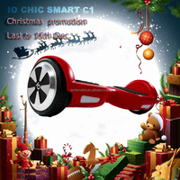 Hangzhou chic smart c1 balance board electric skateboard best toys for 2016 christmas gift