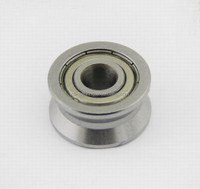 bore 15mm V groove ball bearing RV 202/15