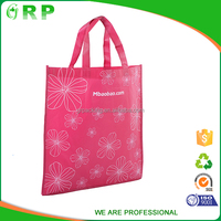 ISO/BSCI Promotions recycling housewife lightweight shopping metallic non woven bag