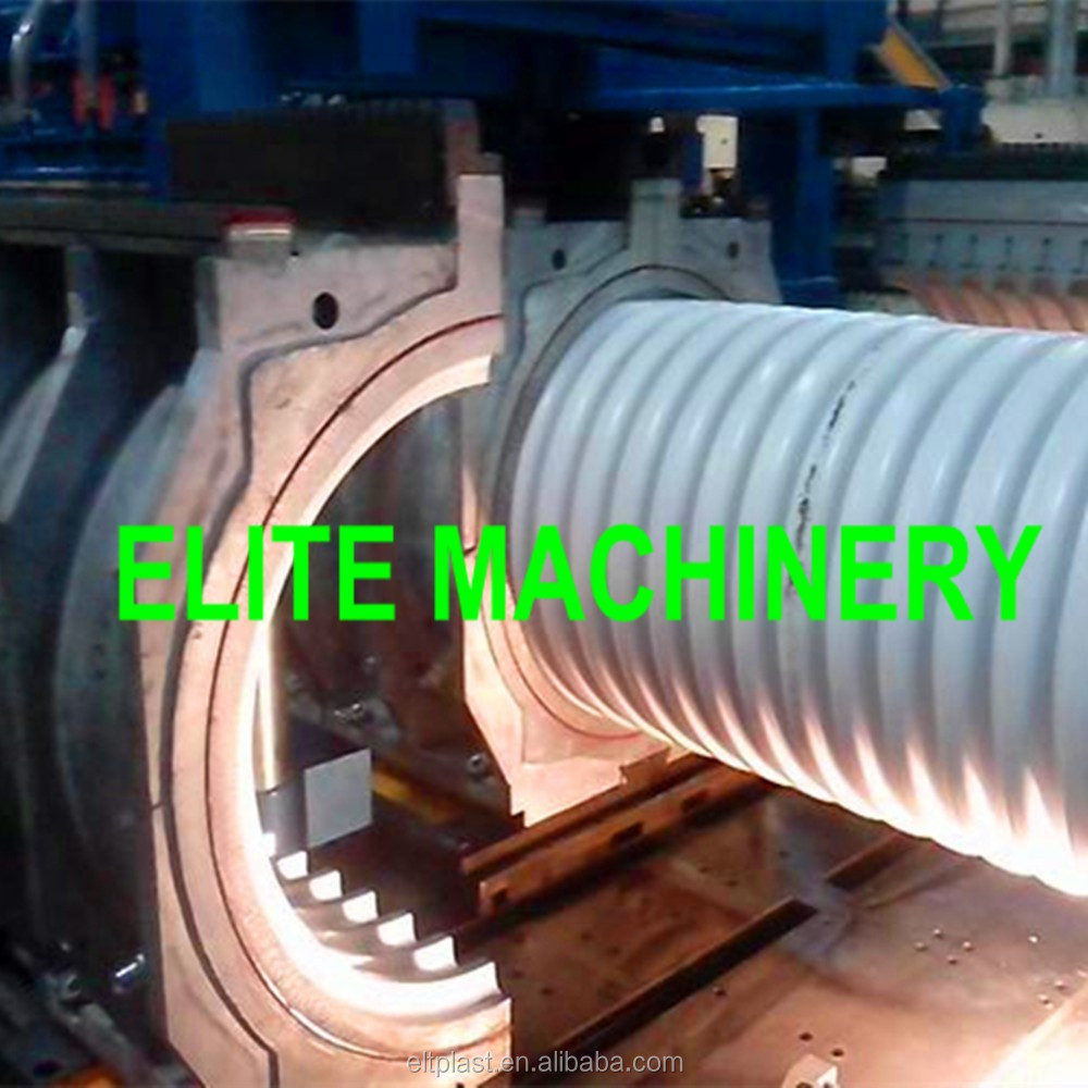 PVC Plastic Corrugated Pipe Extrstion Producing Machine Line