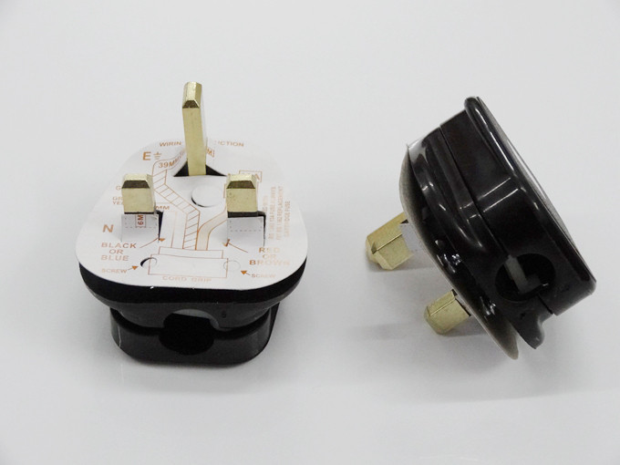Specilized Design Malaysia Ireland Bahrain Iraq Type G <strong>Electrical</strong> Rewireable Power Plug