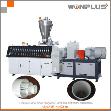 20-75mm PVC double outlet pipe extrusion line