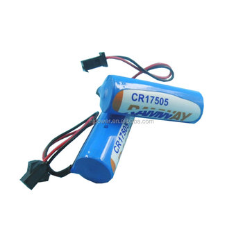 size AAA AA C D 30mah to 10000mah CR series lithium ion battery 6v