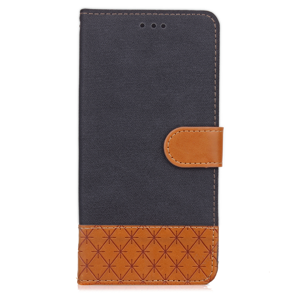 Wallet Flip Denim PU Leather & TPU Protective Phone Cover Case For Samsung S3 i9300
