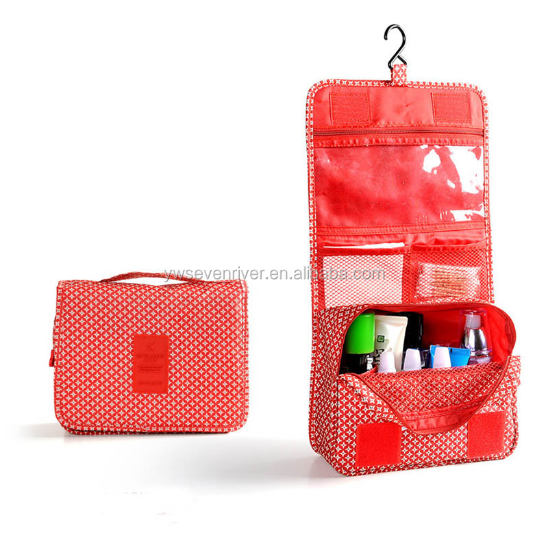 Wholesale Travel Hanging Folding Toiletry Bag Kit