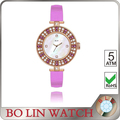 Promotional watches with your own logo cheap metal alloy watch can design your own watch face