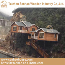 guard house design layout customized wooden in the air for living