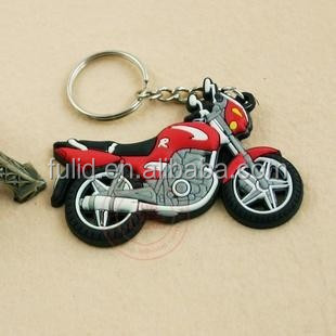 soft pvc motorcycle keychain, soft rubber motorcycle keychain keyring