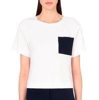 Custom design latest fashion top tshirt wholesale white quality t-shirt lady