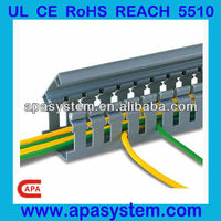 Smooth finish Cheap pvc cable trunking with CE RoHS