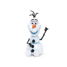 Custom vinyl toy manufacturer small plastic olaf figure