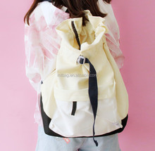 embroidered white drawstring backpack cheap drawstring bags