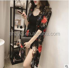 New design fashion ladies tops loose Korean casual blouse for fat women