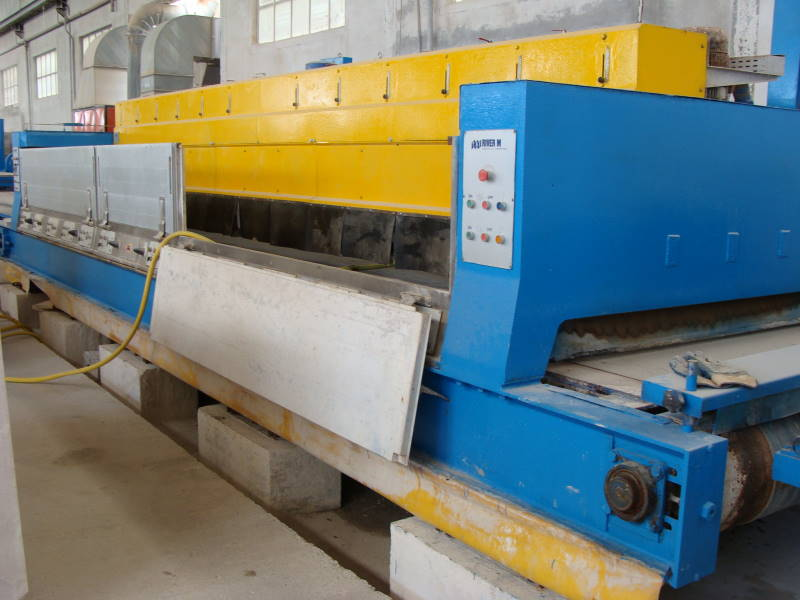 slab polishing line for marble