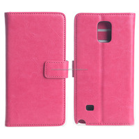 Cell Phone Protector PU Leather Case for Samsung Galaxy Note 4