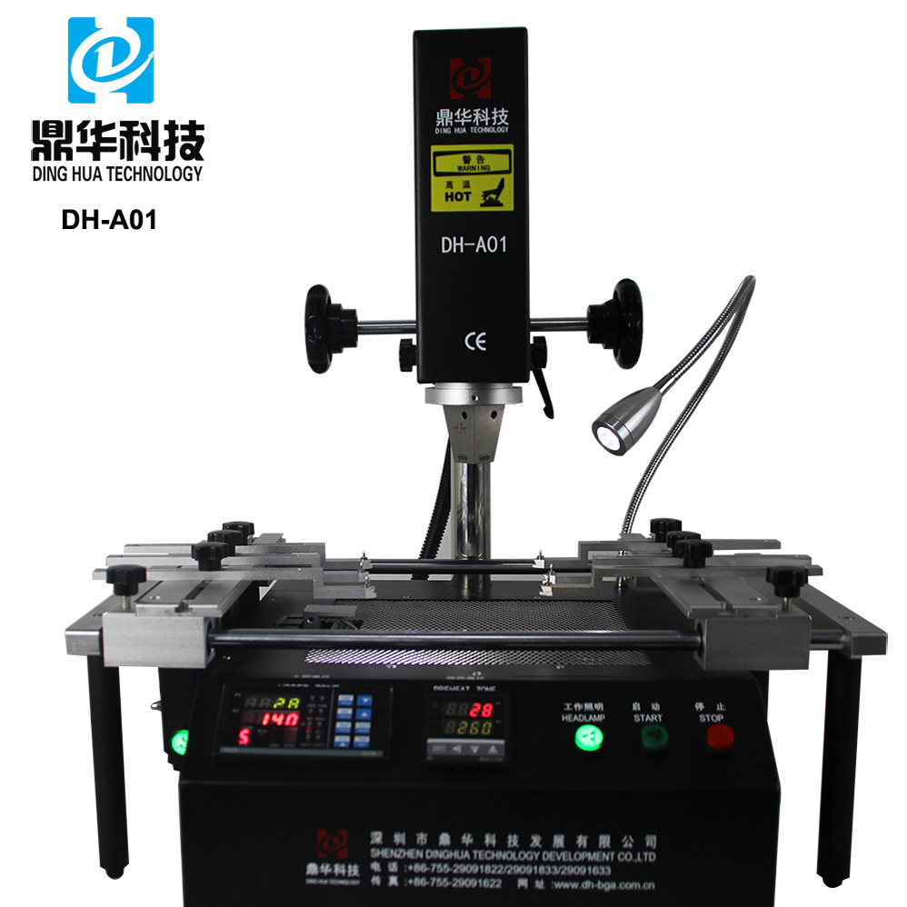 Dinghua manufacturing selective wave soldering/baku smd rework station 601d/bga stencil phone DH-A01