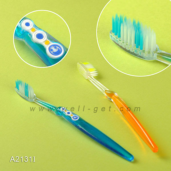 High Demand Personalized Transparent Small Head Adult Toothbrush A2131I