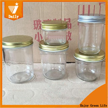 Low MOQ 4oz Regular Mouth glass ideal canning kitchen Jelly mason Jars with Lids