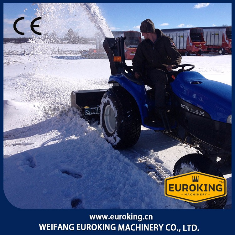 6ft to 6.5ft Skid Steer SNOW BLOWER MADE IN China