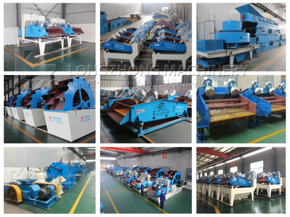 spiral sand washer for stone sand processing plant