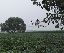 professional 10L agricultural quadcopter crop drone sprayer