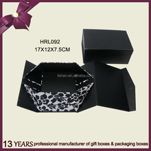 Pretty design custom paper cardboard gift box