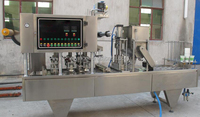 Ampoule filling sealing machine/ice candy filling and sealing machine