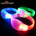 2017 Party Decoration Low Cost Colorful Sound Activated Bracelet LED Running Bracelet