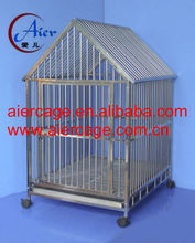 Factory Supplier stainless steel dog crates kennels