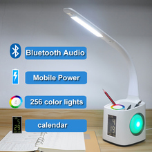 Hot selling led desk USB,led table lamp power outlet with CE certificate