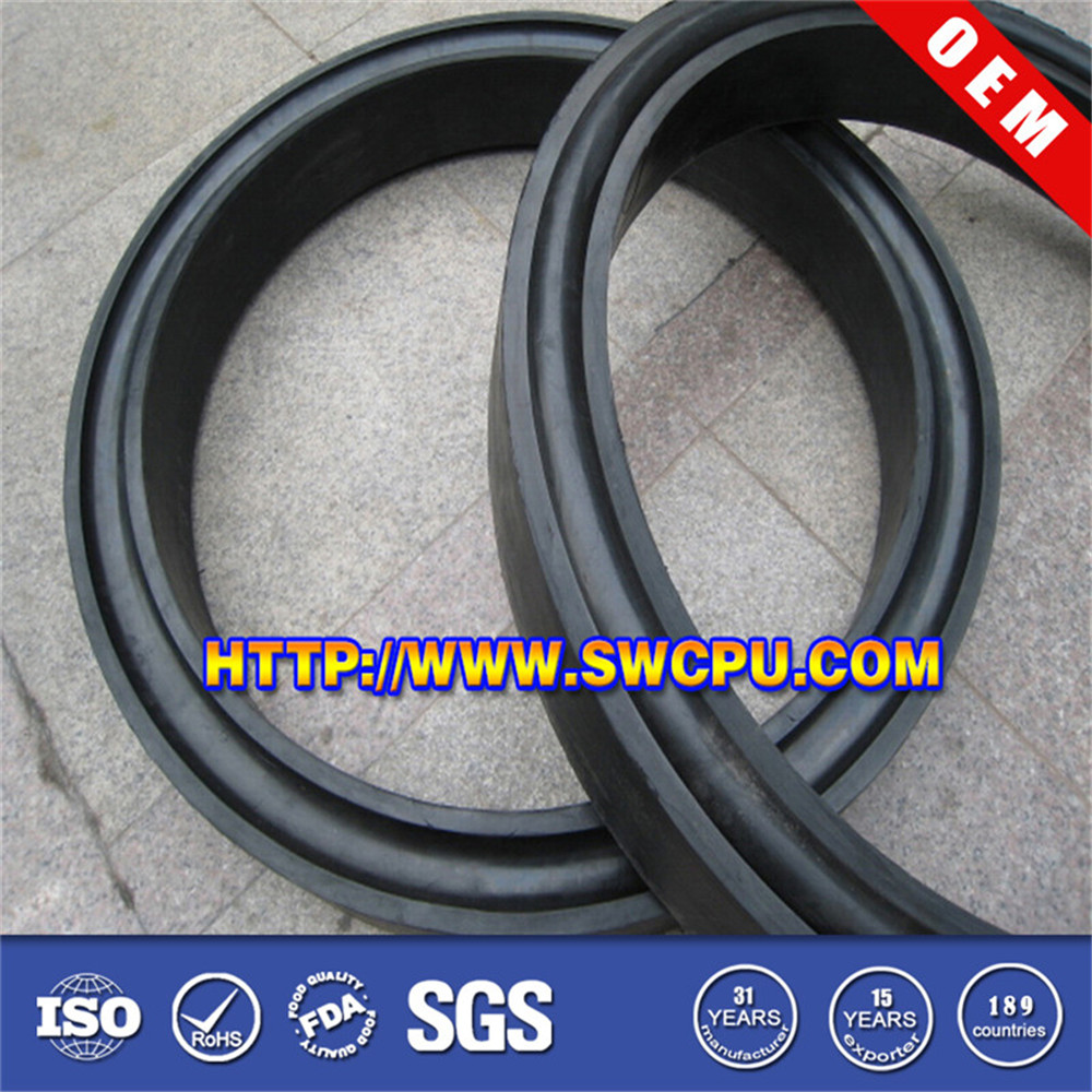 High pressure nonstandard rubber o ring seal kit for