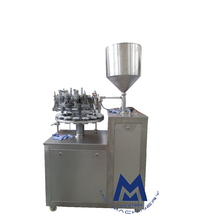 Micmachinery hot sell aluminium tube filler and sealer super glue filler and sealer 502 glue tube filling and sealing machine