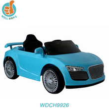 WDCH9926 Newest Modern Electric Toy Cars For Kids With Remote Control And Key Start