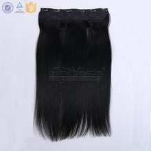 "Straight 22"" Flip In Hair Extension, Hidden Halo Invisible Flip In Hair Piece"