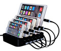 hot selling 2017 amazon for apple smartphone 5 port usb charging station