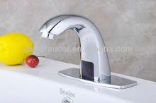 Chromed Health Automatic Infrared Sensor Bathroom Faucets (Cold)