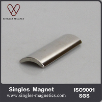 Customized strong rare earth arc magnets for magnetic motor
