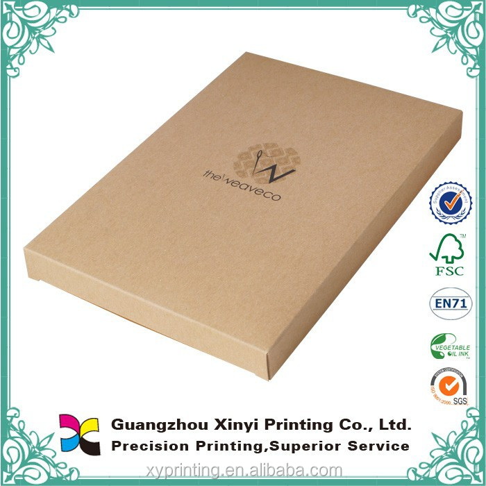 Fancy and beautiful Custom Full color Custom small gift brown kraft paper box wholesale