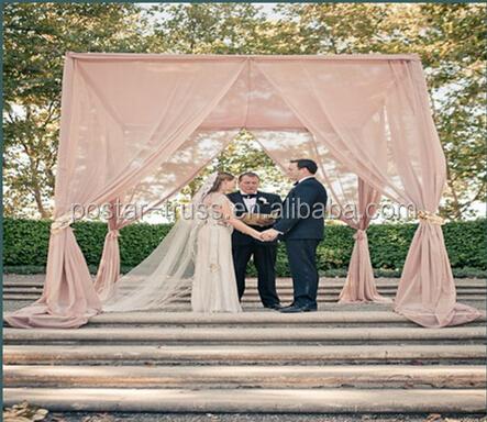 Elegant Southern Wedding Pipe And Drape Kits Wedding Ceremony Backdrops