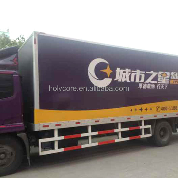 high compressive strength Plastic PP honeycomb sandwich dry box truck body made of Holypan