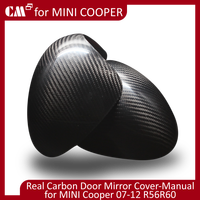 For Mini Cooper R56 Carbon Fiber Door Mirror Cover