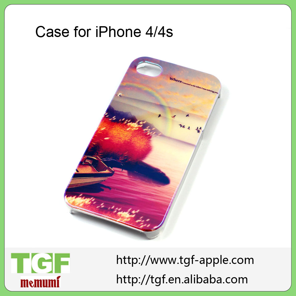 Hard Case Cartoon Case For apple iPhone iphone4s iphone4 4g iPhone 4 4s mobile phone case