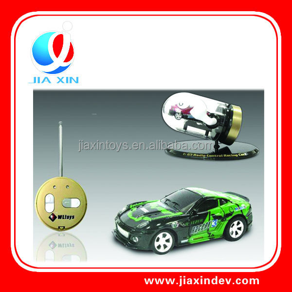 1:63 Scale rocket head rc car , rocket toy