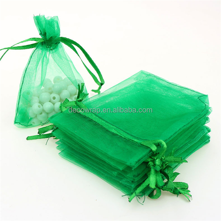 China Manufacturer Wholesale Cheap Organza Gift Bag