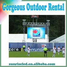 Excellent heat radiating design P6.944mm rental outdoor led display, with new tech
