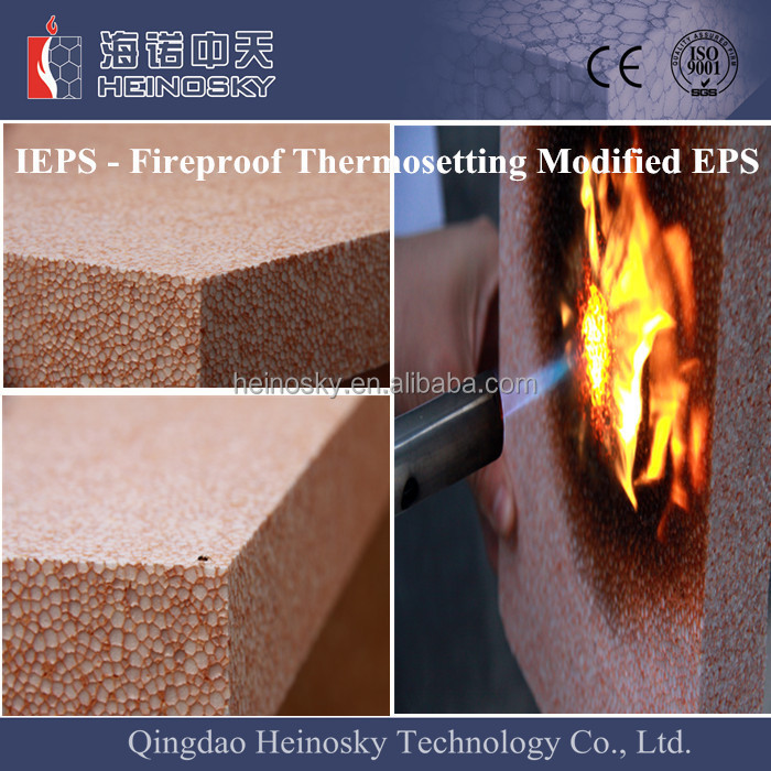 new patent products high density fire resistant insulation material waterproof wall insulation