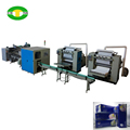 Full automatic facial tissue production line with box packing
